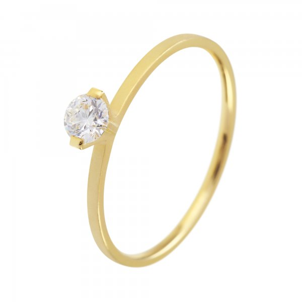 Niessing Princess N301960 Ring Gelbgold mit 0,23 Karat Brillant