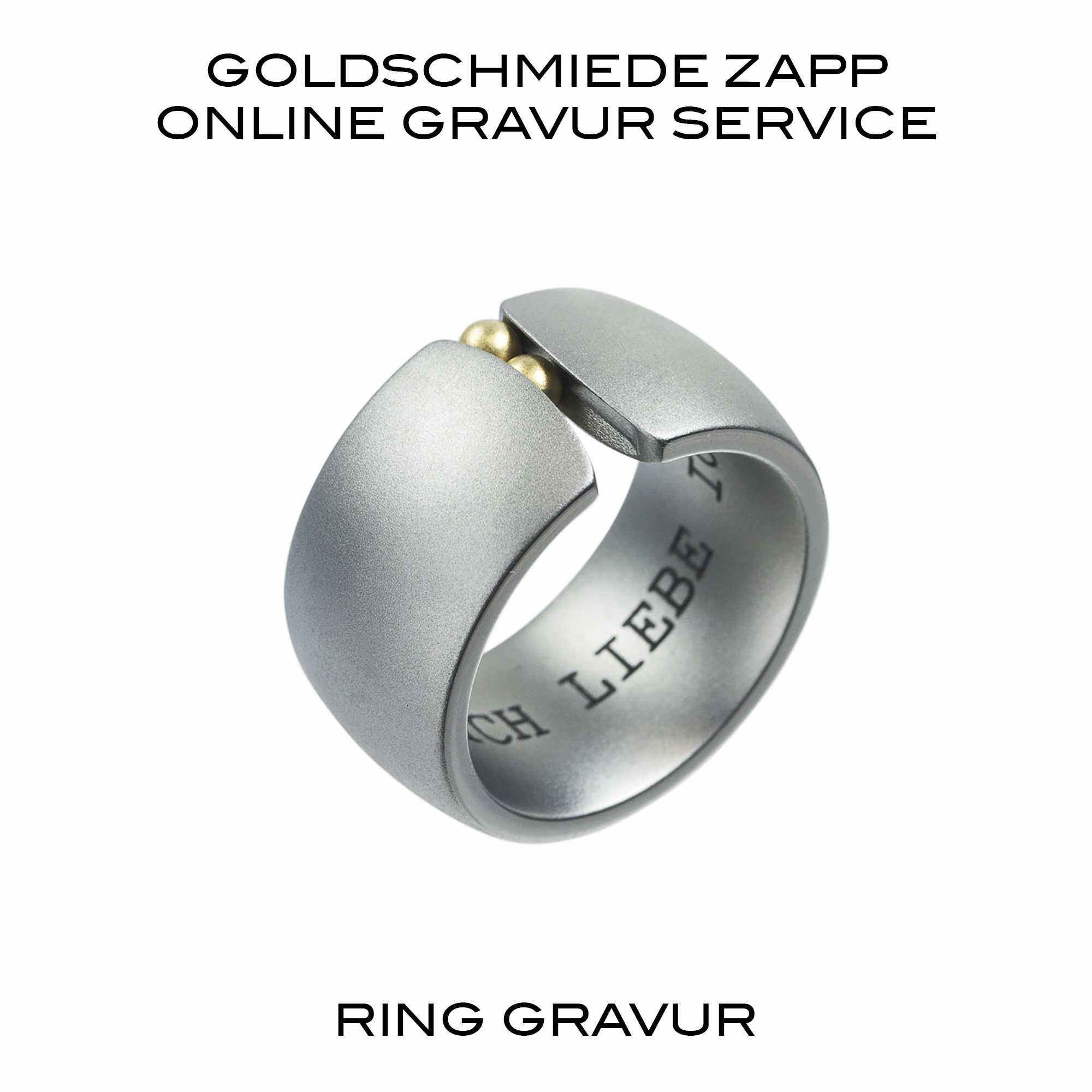 ring innen mit laser gravieren lassen goldschmiede juwelier zapp seit 1907. Black Bedroom Furniture Sets. Home Design Ideas